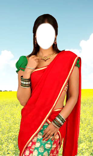 Women half saree