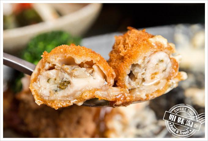 森本日式和風洋食堂漢堡排海鮮定食