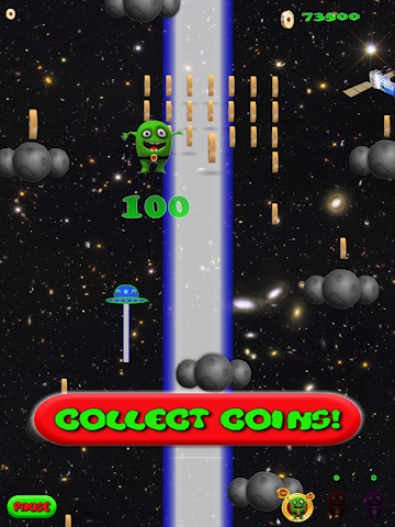 android Alien Jump Free Screenshot 6