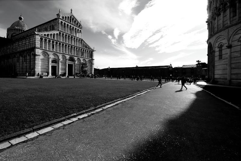 Ombre a Pisa di Andrea F