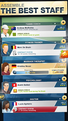 TOP SEED Tennis: Sports Management & Strategy Game 2.34.7 screenshots 6
