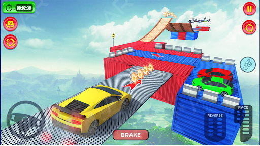 Ramp Car Stunt Racing : Impossible Track Racing 1.0.1 screenshots 4