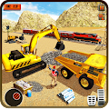 Heavy Machines Train Track Construction Simulator APK