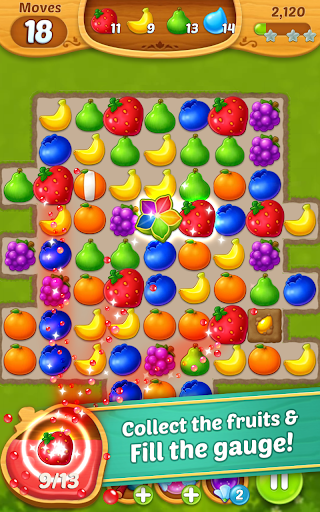 Fruits Mania : Fairy rescue  screenshots 4