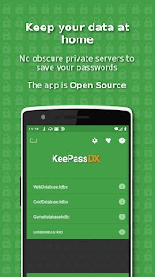 KeePassDX Screenshot