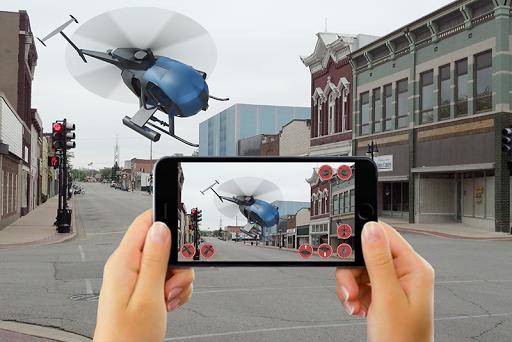 RC HELICOPTER REMOTE CONTROL SIM AR apktram screenshots 1