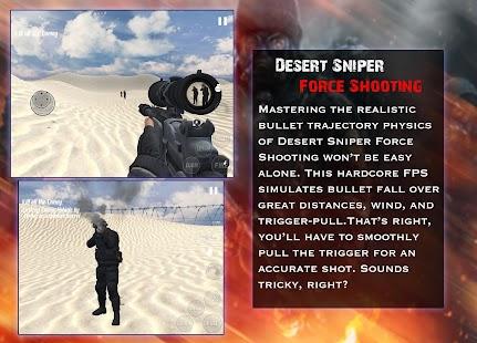 Desert Sniper Force Shooting - náhled