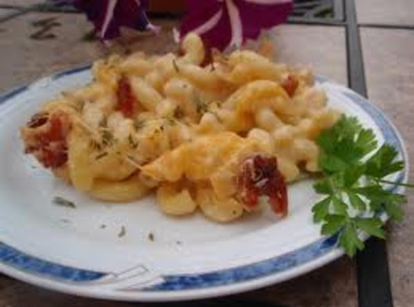 Baked Macaroni & Cheese With Caramelized Onions Recipe