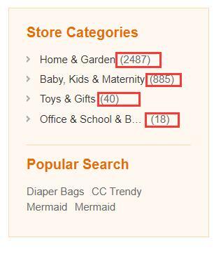Магазин, продающий самые разные товары
