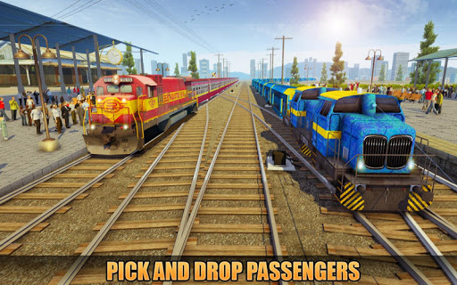 Indian Train Racing Simulator Pro: Train game 2019 image | 4