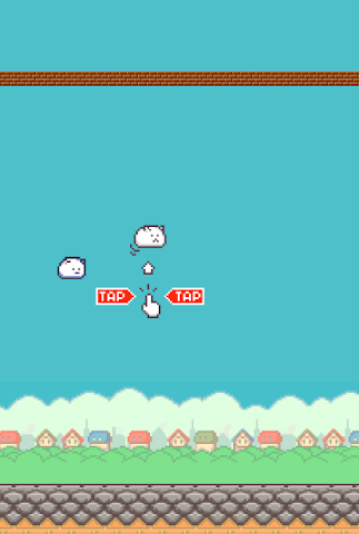 android Flying Cat Screenshot 0