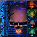Biomechanical Skull Wallpaper apk