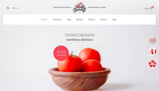 Foodly - premium Shopify theme