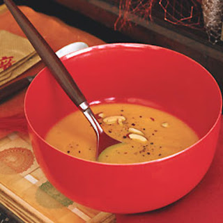 Carrot with Toasted Almond Soup.