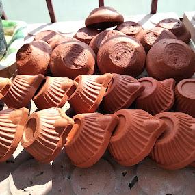 Deepam by Harish Kumar K - Artistic Objects Antiques ( diwali )