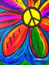 Photo: Peace sign daisy