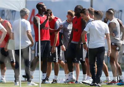 """Lukaku évoque son amitié avec Pogba: """"Il est le feu, je suis l'eau"""""""