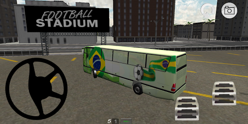 Football Team Bus Driver 3D 3.0 screenshots 1