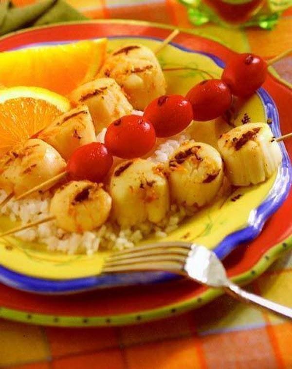 Citrus Ginger Scallops Recipe