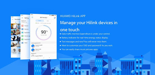 Huawei HiLink (Mobile WiFi) captures d'écran