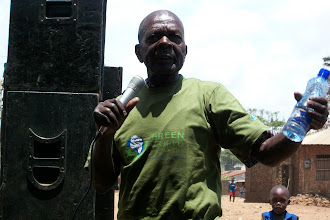 Photo: Mzee ya Mtaa - October - 16th - Community Trash Removal and Tree Planting.