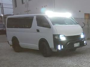 ハイエースバン TRH200V ハイエースDXのカスタム事例画像 アキラ34さんの2020年01月06日18:49の投稿