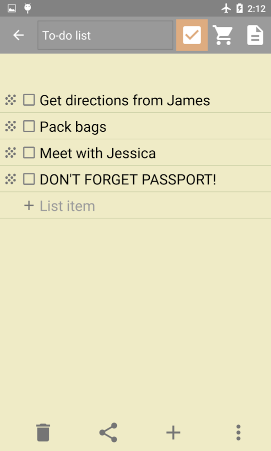 InkPad Notepad - Notes - To do- screenshot