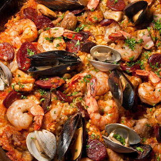 Grilled Paella.