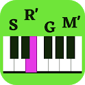 Sargam Piano Notes   Harmonium Notes   Bollywood icon