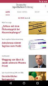Deutsche Apotheker Zeitung screenshot 0