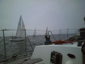 Photo: 艇速4~5ノット