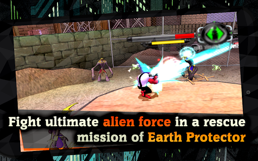 Alien Force War: Earth Protector captures d'u00e9cran 2
