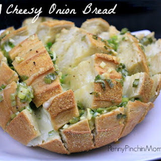 Savory Cheesy Onion Bread