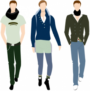 Outfit planner men - náhled