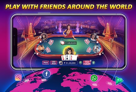 Teen Patti Gold – With Poker &Online Rummy Card Game App Download For Android and iPhone 4