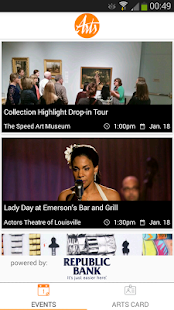 Louisville Arts Link- screenshot thumbnail