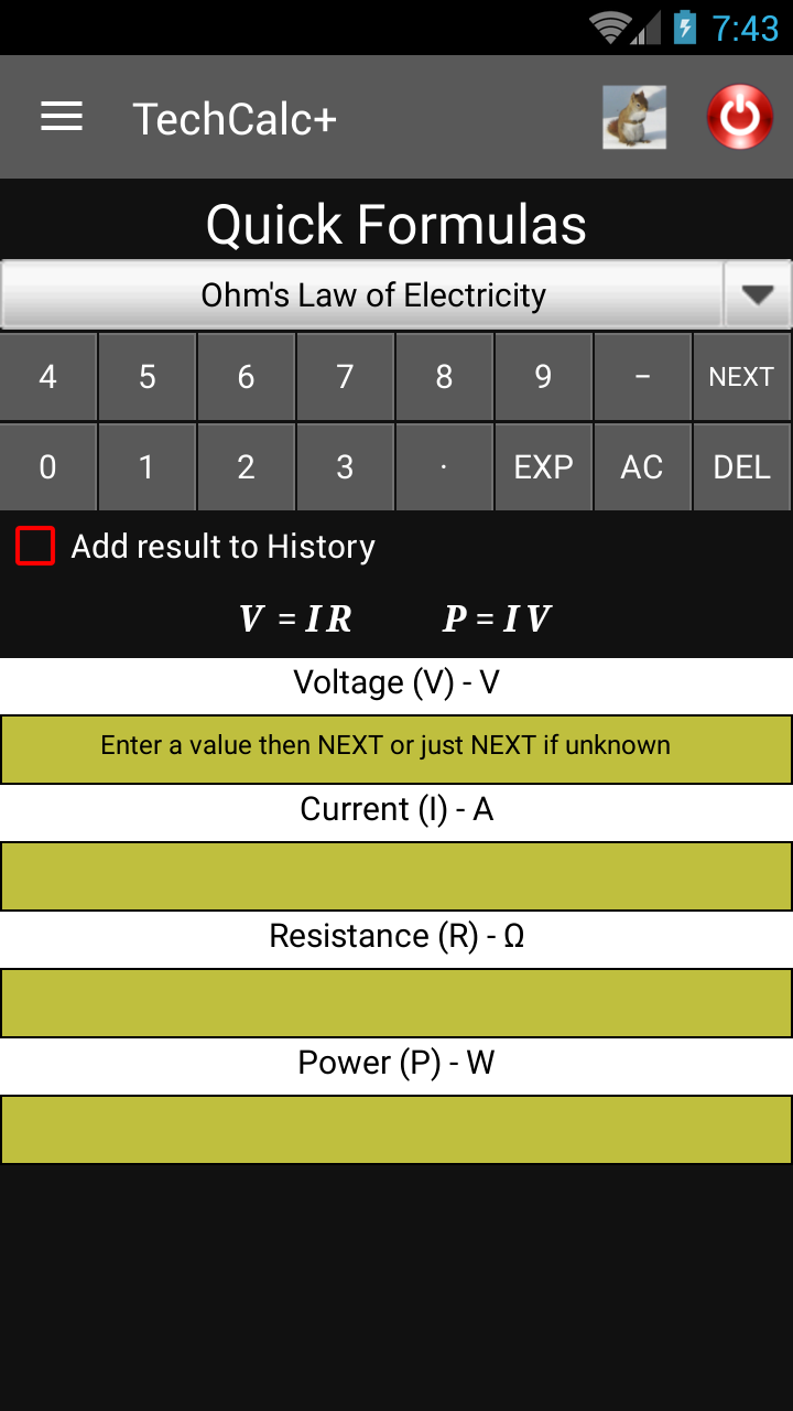 Scientific Calculator (adfree) Screenshot 7