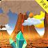 3D Cartoon Volcano Live WP v1
