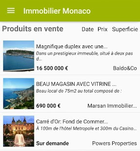 Real Estate Monaco- screenshot thumbnail