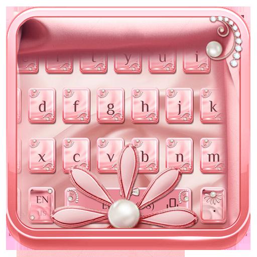 Pink Silk Keyboard