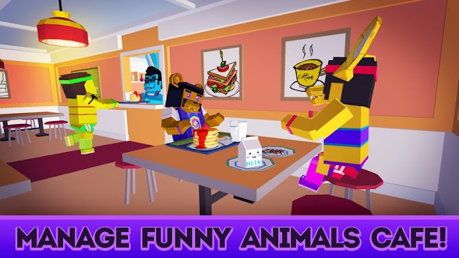 Cute Pets Cafe - Cooking Chef Simulator Android 1