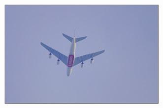 Photo: Emirates im Überflug