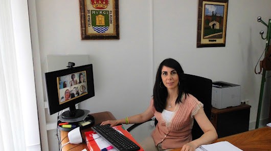 La edil de Servicios Sociales, Almudena Martínez.