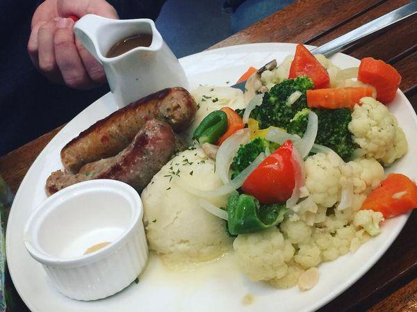 台北圓山《三隻獅子英國餐廳The Three Lions Inn》健康美味的英式料理