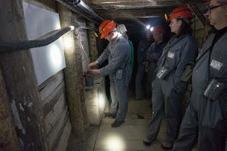 Photo: Na górniczej trasie - pokaz wybuchu