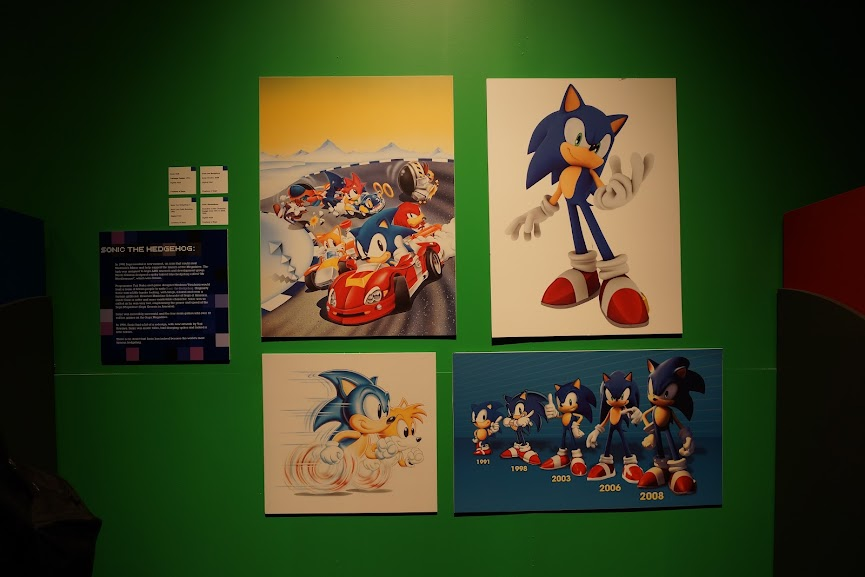 Sonic the Hedgehog at Game On 2.0 at Ontario Science Centre (2013)