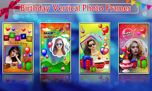 Birthday greeting cards maker photo frames cakes apps on google play screenshot image m4hsunfo