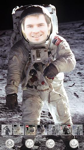 宇航员在月球