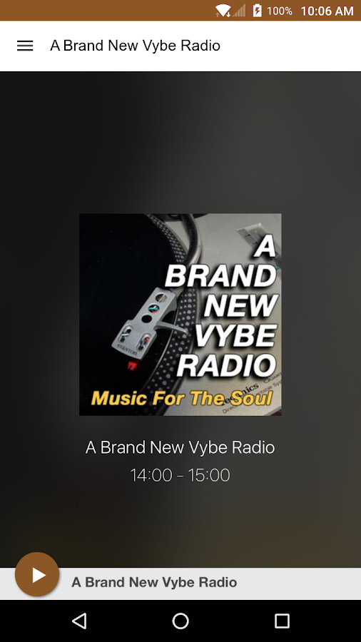 A Brand New Vybe Radio- screenshot