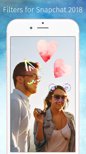 Filters for Snapchat 2018 1.0.1 screenshots 3